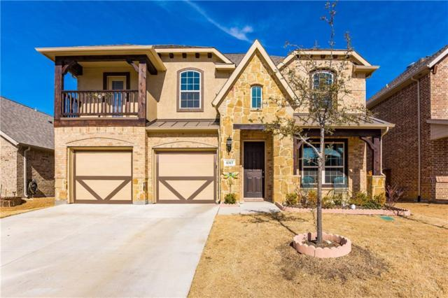 4317 Old Grove Way, Fort Worth, TX 76244 (MLS #13772716) :: Team Hodnett