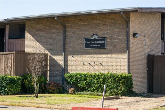 2627 Douglas Avenue #106, Dallas, TX 75219 (MLS #13773560) :: Team Hodnett