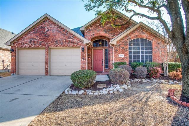 2401 Pheasant Drive, Little Elm, TX 75068 (MLS #13773679) :: Team Hodnett
