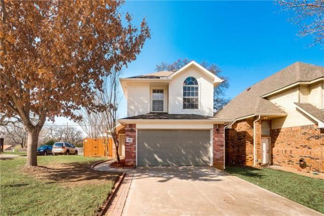 7417 Arbor Park Drive, Fort Worth, TX 76120 (MLS #13773817) :: NewHomePrograms.com LLC