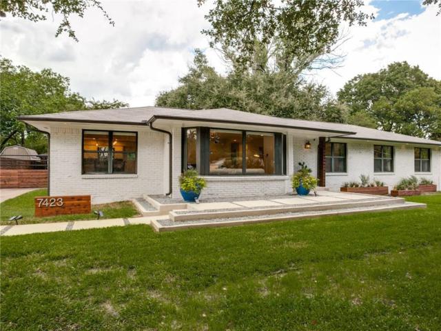 7423 Northaven Road, Dallas, TX 75230 (MLS #13773852) :: Team Hodnett