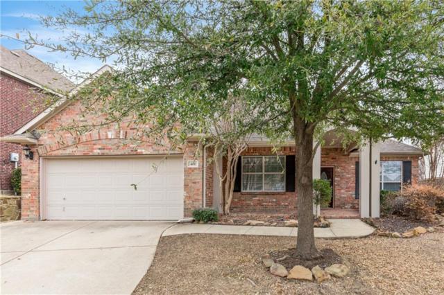 400 Saddlehorn Drive, Mckinney, TX 75071 (MLS #13773864) :: Team Hodnett