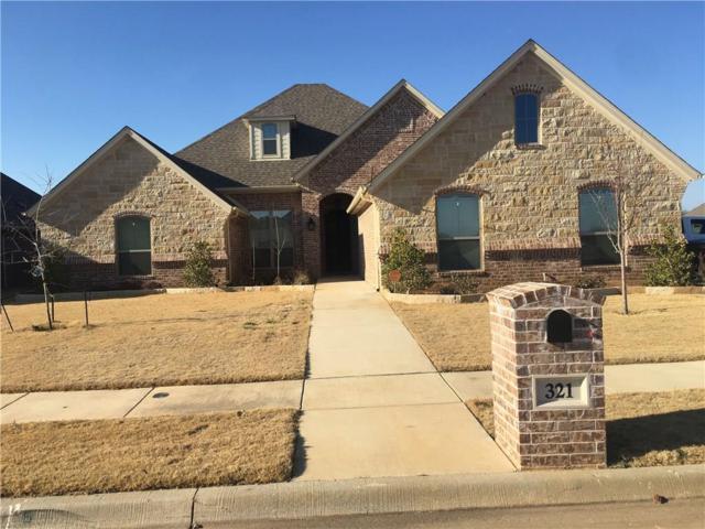 321 Oar Wood Drive, Granbury, TX 76049 (MLS #13774876) :: Team Hodnett