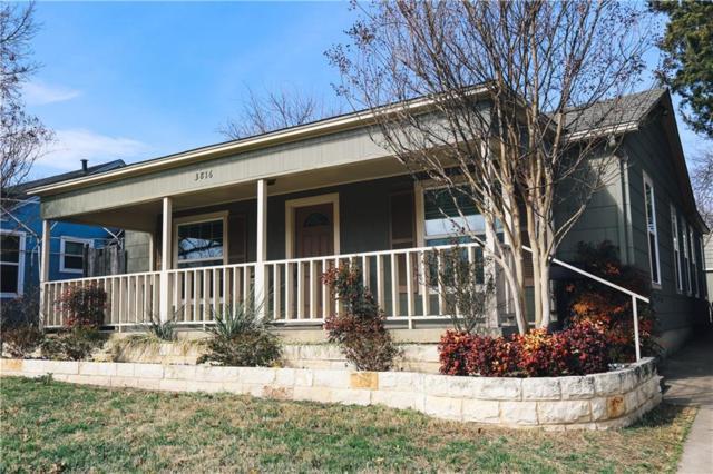 3816 Collinwood Avenue, Fort Worth, TX 76107 (MLS #13775045) :: NewHomePrograms.com LLC