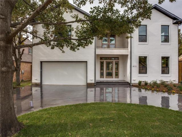 4111 Saranac Drive, Dallas, TX 75220 (MLS #13775624) :: Kindle Realty