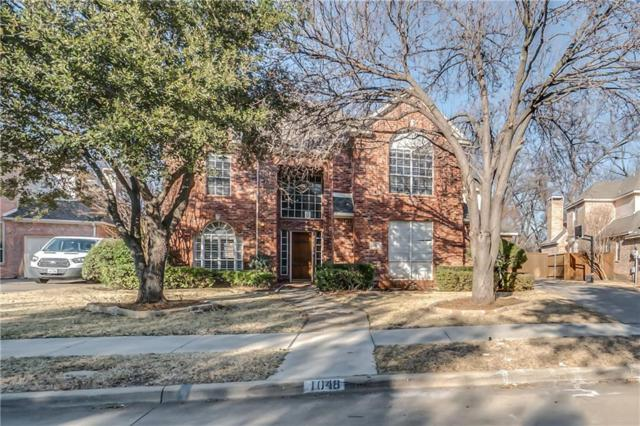 1048 Creek Crossing, Coppell, TX 75019 (MLS #13776064) :: Hargrove Realty Group