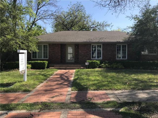 6826 Northwood Road, Dallas, TX 75225 (MLS #13776536) :: Robbins Real Estate Group