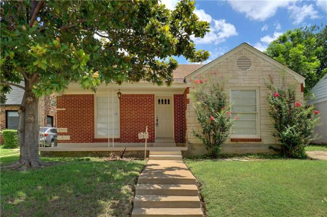 2529 Forest Park Boulevard, Fort Worth, TX 76110 (MLS #13776658) :: Kindle Realty