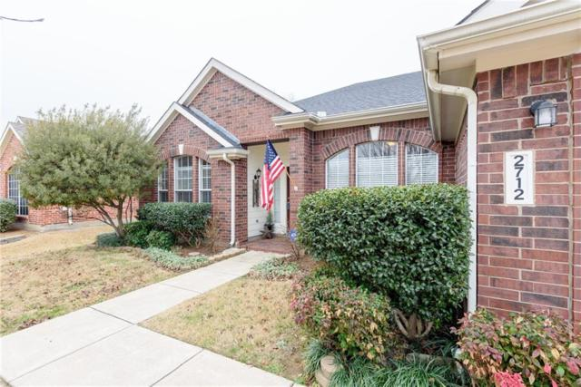 2712 Hollow Ridge Drive, Denton, TX 76210 (MLS #13776754) :: Team Hodnett