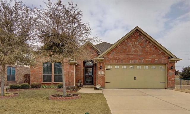 341 Falstaff Drive, Roanoke, TX 76262 (MLS #13776869) :: Team Hodnett