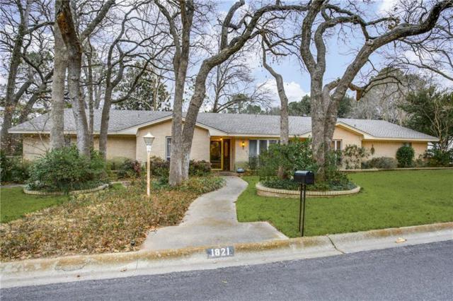 1821 Stonegate Drive, Denton, TX 76205 (MLS #13777120) :: Team Tiller