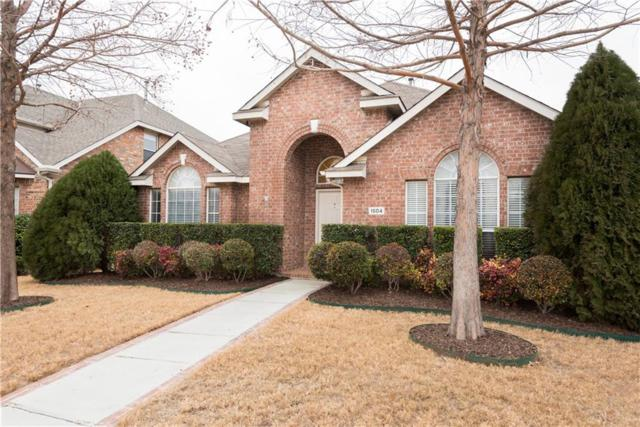 1504 Heather Brook Drive, Allen, TX 75002 (MLS #13777840) :: Kimberly Davis & Associates