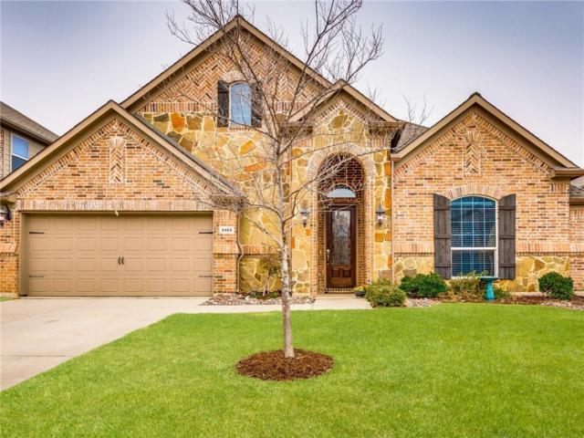 2465 Valley Glen Drive, Little Elm, TX 75068 (MLS #13777881) :: Team Hodnett