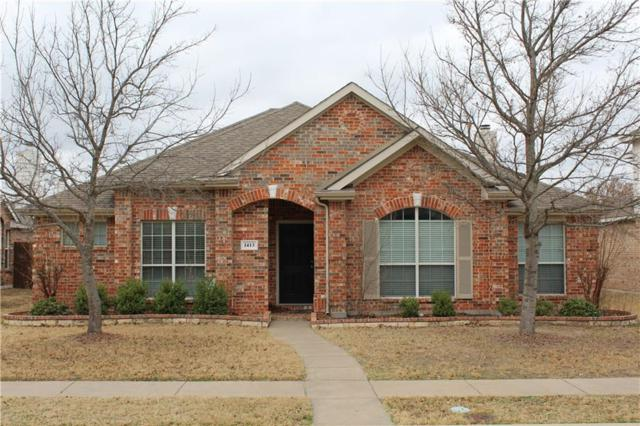 1413 Hazelwood Drive, Allen, TX 75002 (MLS #13778145) :: Kimberly Davis & Associates
