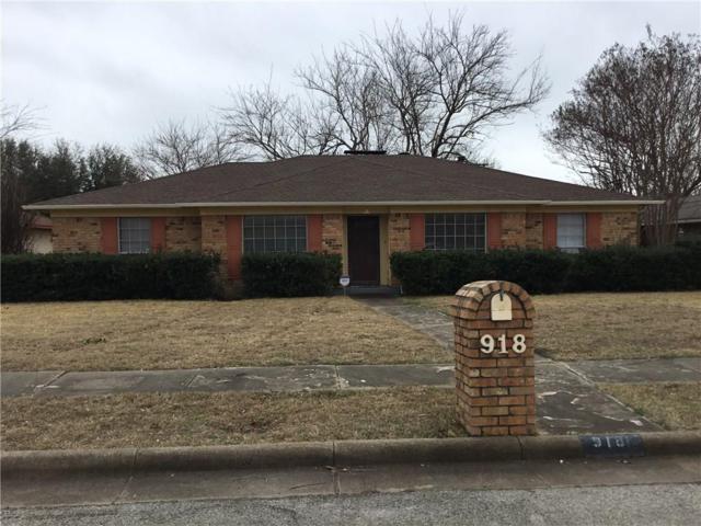 918 Waynelee Drive, Lancaster, TX 75146 (MLS #13778311) :: RE/MAX Preferred Associates