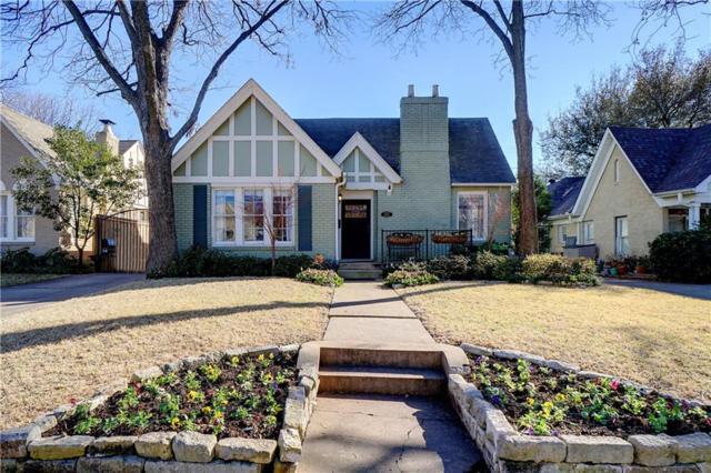 5206 Monticello Avenue, Dallas, TX 75206 (MLS #13779008) :: Team Hodnett