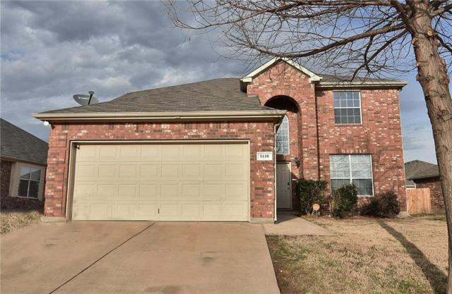 1116 Emerson Drive, Burleson, TX 76028 (MLS #13779109) :: The Marriott Group