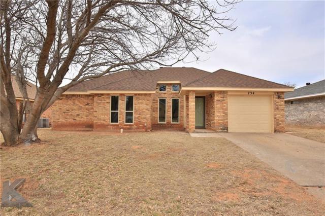 734 Alisons Way, Abilene, TX 79602 (MLS #13779202) :: Kindle Realty