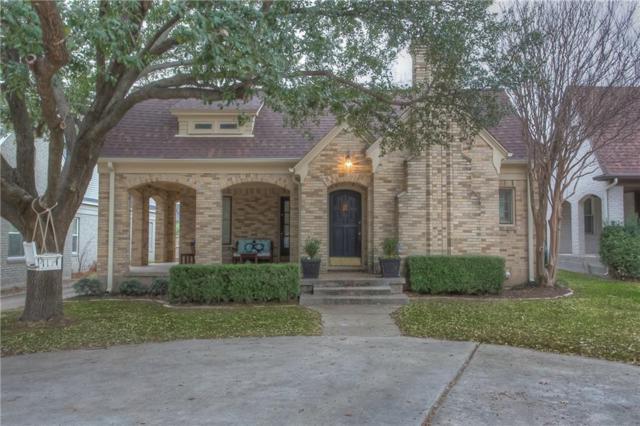 2110 Tremont Avenue, Fort Worth, TX 76107 (MLS #13779440) :: Team Tiller