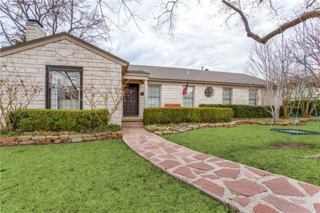 5645 Bryn Mawr Drive, Dallas, TX 75209 (MLS #13779470) :: Team Hodnett