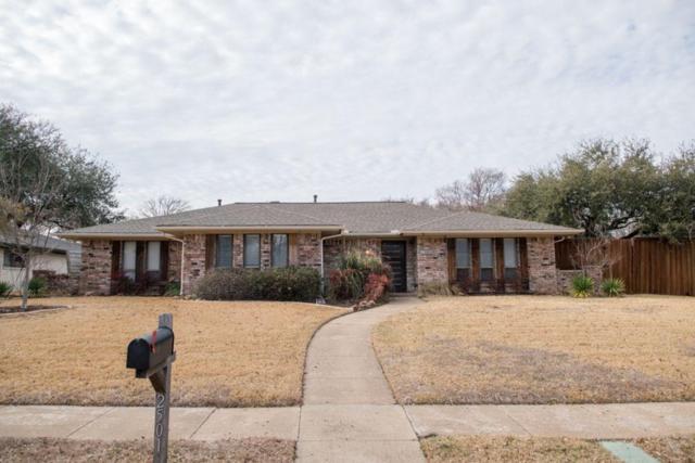 2501 Walnut Lane, Plano, TX 75075 (MLS #13779491) :: Frankie Arthur Real Estate