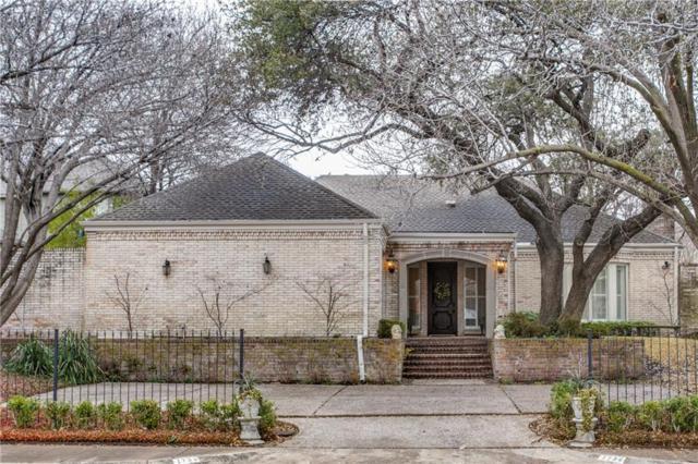7739 Southwestern Boulevard, Dallas, TX 75225 (MLS #13779495) :: Frankie Arthur Real Estate