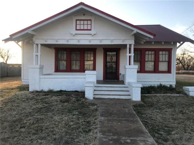 172 Hill Street, Moran, TX 76464 (MLS #13779578) :: Team Hodnett