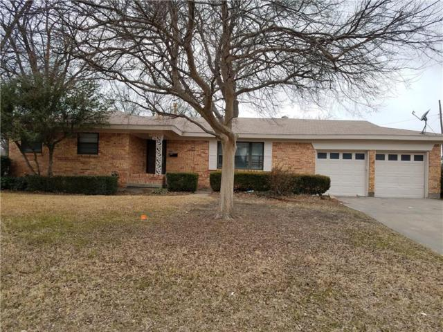 3821 Oxley Drive, Richland Hills, TX 76118 (MLS #13779602) :: The FIRE Group at Keller Williams
