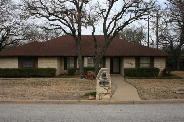 1406 Alamo Street, Mineral Wells, TX 76067 (MLS #13779951) :: Team Hodnett