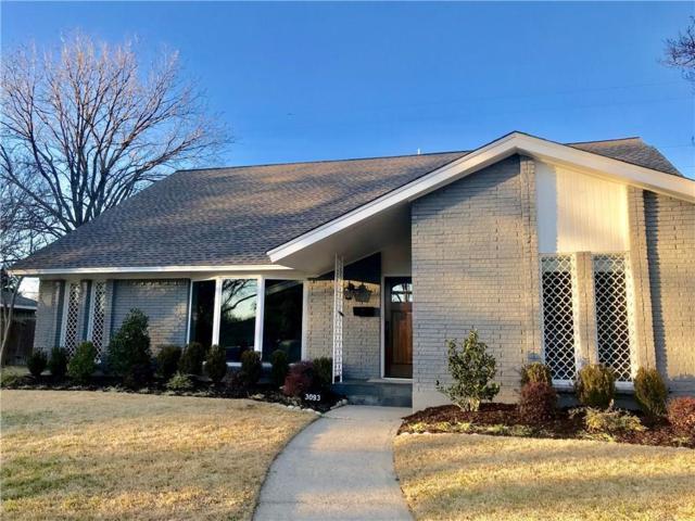 3093 Ponder Drive, Dallas, TX 75229 (MLS #13780000) :: Frankie Arthur Real Estate