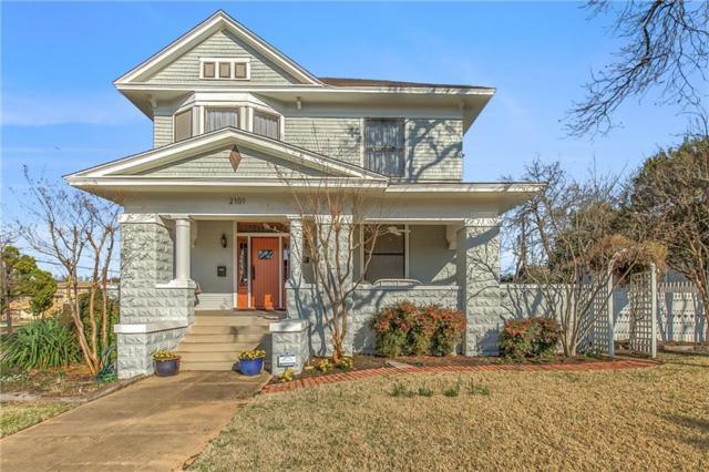 2101 Lipscomb Street, Fort Worth, TX 76110 (MLS #13780049) :: Team Hodnett