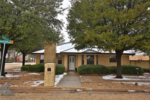 2502 Sunnibrook Court, Abilene, TX 79601 (MLS #13780231) :: Van Poole Properties