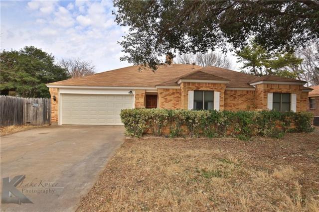 3810 Earls Cove, Abilene, TX 79606 (MLS #13780641) :: Team Hodnett