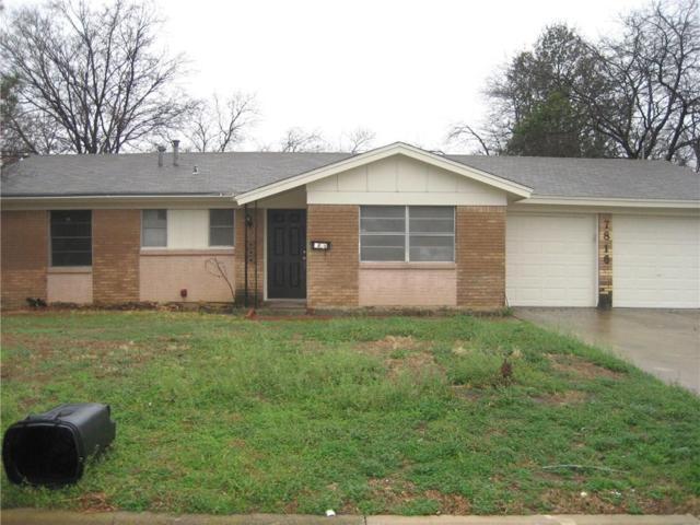 7816 Standley Street, North Richland Hills, TX 76180 (MLS #13780645) :: Team Hodnett