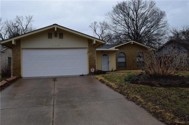 306 Carol Drive, Grand Prairie, TX 75052 (MLS #13780647) :: The FIRE Group at Keller Williams