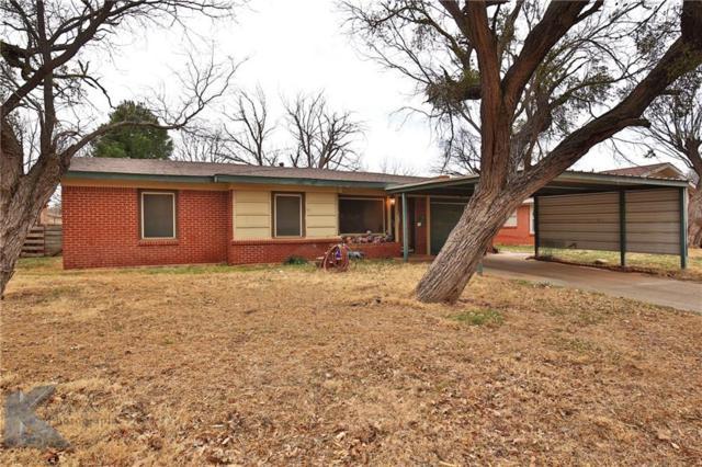 1436 Westview Drive, Abilene, TX 79603 (MLS #13780665) :: Team Hodnett