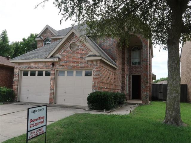 6805 Outland Drive, Plano, TX 75023 (MLS #13780905) :: Exalt Realty