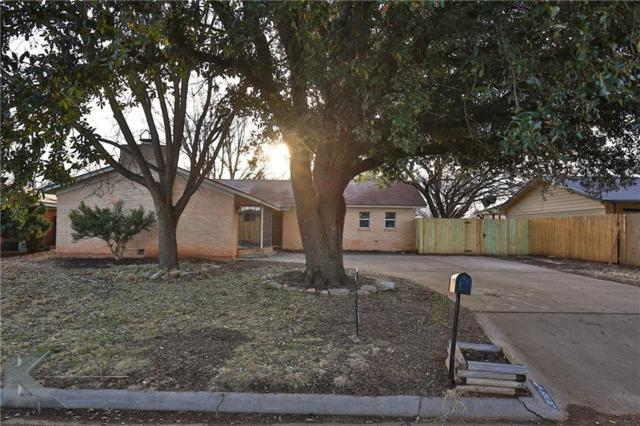 3233 Wenwood Road, Abilene, TX 79606 (MLS #13781092) :: Team Hodnett