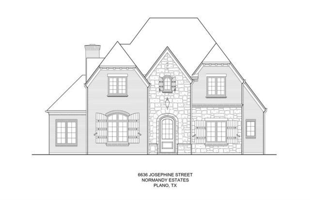 6636 Josephine Street, Plano, TX 75024 (MLS #13781561) :: Team Hodnett