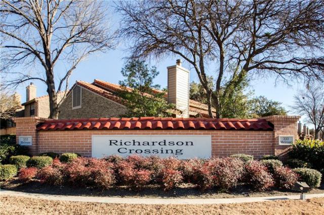 333 Melrose Drive 24C, Richardson, TX 75080 (MLS #13781599) :: Ebby Halliday Realtors