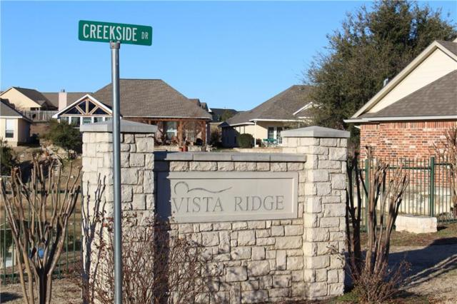 Lot2B Creekside Drive, Glen Rose, TX 76043 (MLS #13781615) :: RE/MAX Town & Country