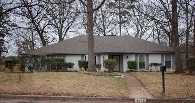4308 Heather Lane, Tyler, TX 75703 (MLS #13782050) :: Baldree Home Team