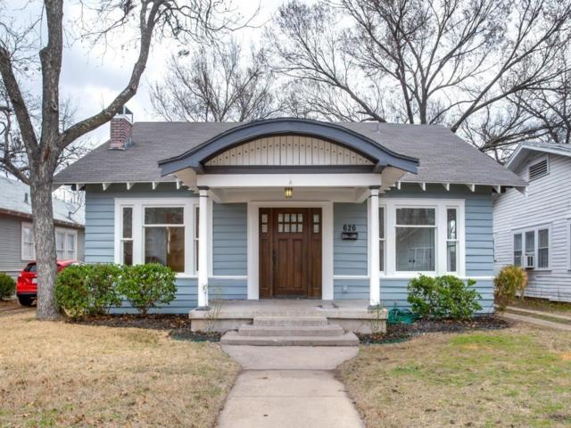 626 N Windomere Avenue, Dallas, TX 75208 (MLS #13782410) :: Team Hodnett