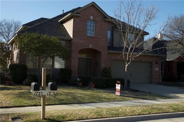 1725 Vintage Drive, Corinth, TX 76210 (MLS #13782570) :: Baldree Home Team
