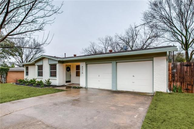 6216 Brentwood Drive, Fort Worth, TX 76112 (MLS #13782662) :: Team Hodnett