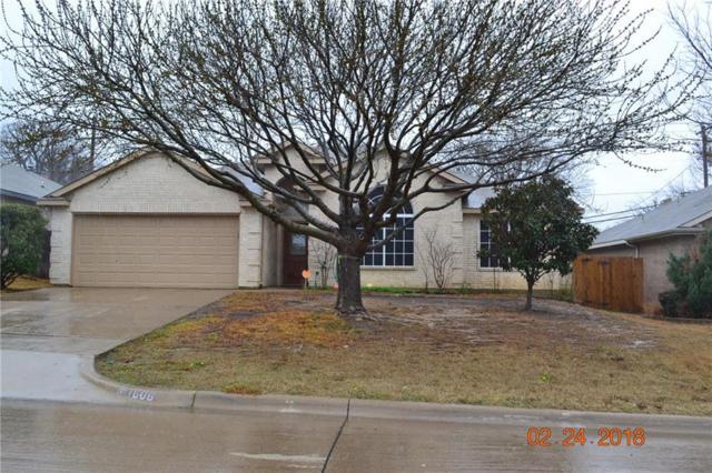 1606 Fern Drive, Mansfield, TX 76063 (MLS #13782865) :: Pinnacle Realty Team
