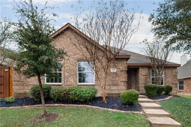 1311 Cedar Springs Drive, Allen, TX 75002 (MLS #13782885) :: Exalt Realty