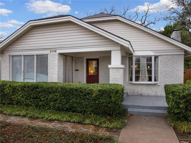 2016 Clover Lane, Fort Worth, TX 76107 (MLS #13783203) :: Team Tiller