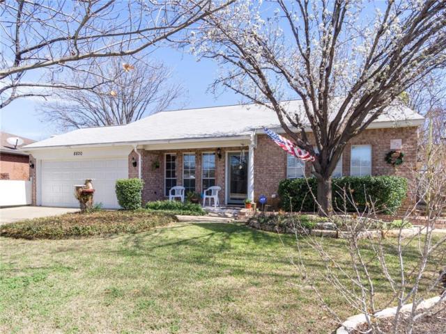 8820 Crestbrook Drive, Fort Worth, TX 76179 (MLS #13783214) :: Team Hodnett