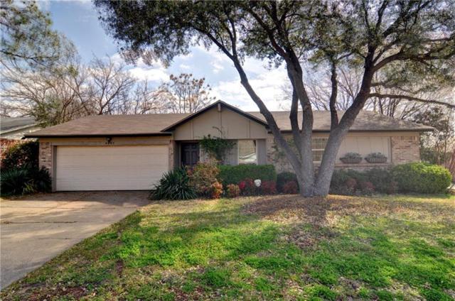 6605 Woodway Drive, Fort Worth, TX 76133 (MLS #13783875) :: Team Hodnett